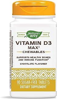Nature's Way Vitamin D3 Max Chewables