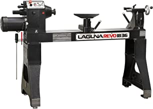 "Laguna Tools Revo Lathe 220v 2HP 18""/36"" Induction 1725RPM Motor w/Variable Speed Frequency Drive - Model MLAREVO 1836, Black"
