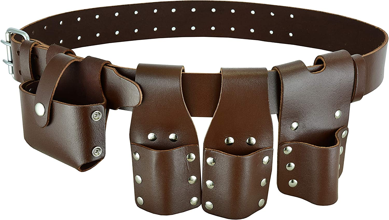 Scaffolding Handyman Contractor Carpenter Tool Ranking TOP13 Brown Bel Max 79% OFF Leather