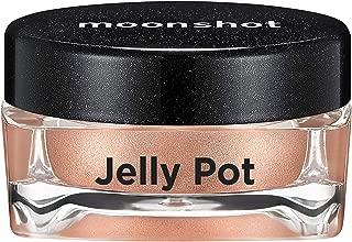 ムーンショット(moonshot) ブラックピンク ゼリーポット パールタイプ アイシャドウ Jelly Pot Pearl Type Eyeshadow (P06 ブロンズシャンパン Bronze Champagne)