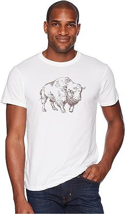Bison Illustration T-Shirt
