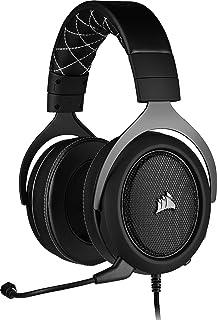Corsair Hs60 Pro Surround Cuffie Gaming con Microfono, Audio 7.1 Surround, Padiglioni Memory Foam, Cancellazione Rumore Microfono, Per PC/PS5/PS4/Xbox One/Series X/Nintendo Switch/Dispositivi mobili