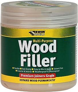 Everbuild MPWOODDKOAK2 Multi-Purpose Wood Filler, Dark Oak, 250 ml