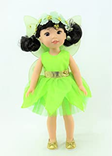 American Fashion World Tinker Bell Fairy Outfit fits 14 Inch Doll