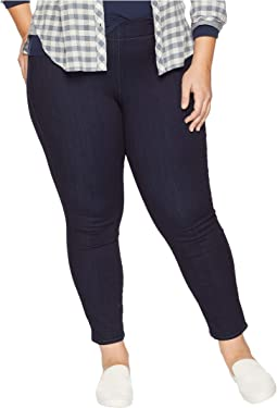 Plus Size Pull-On Skinny Ankle in Mabel