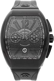Vanguard Mechanical (Automatic) Black Dial Mens Watch V45 CC DT BR NR TTB (Certified Pre-Owned)