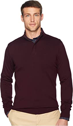 Cotton Modal 1/4 Zip Sweater