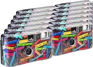 TopShot I mog di - Cámaras Desechables (27 Fotos Flash 12 Unidades) Color Negro (Importado)