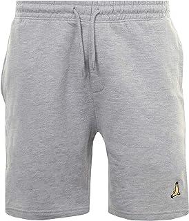 BRAVE SOUL Mens Gym Joggers Jogging Lounge Shorts Bottoms Eagle Embroidered Pants