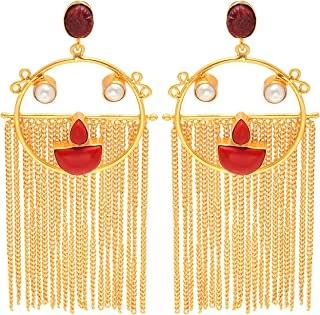 Best south indian earrings gold Reviews