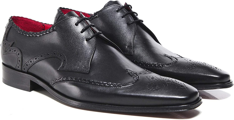 Jeffery West herrar läder Sbilface skor svart svart svart  bra priser