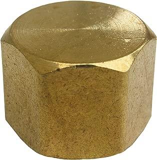 LASCO 17-9147 3/8-Inch Female Pipe Thread Brass Cap