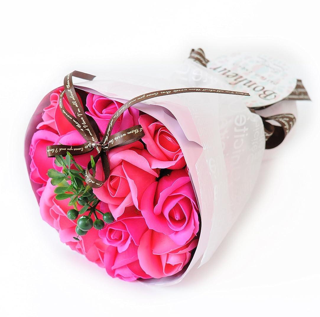 住人クリップバングフラワーマーケット花由 ソープフラワー アロマローズブーケ ビューティー シャボンフラワー フラワーソープ