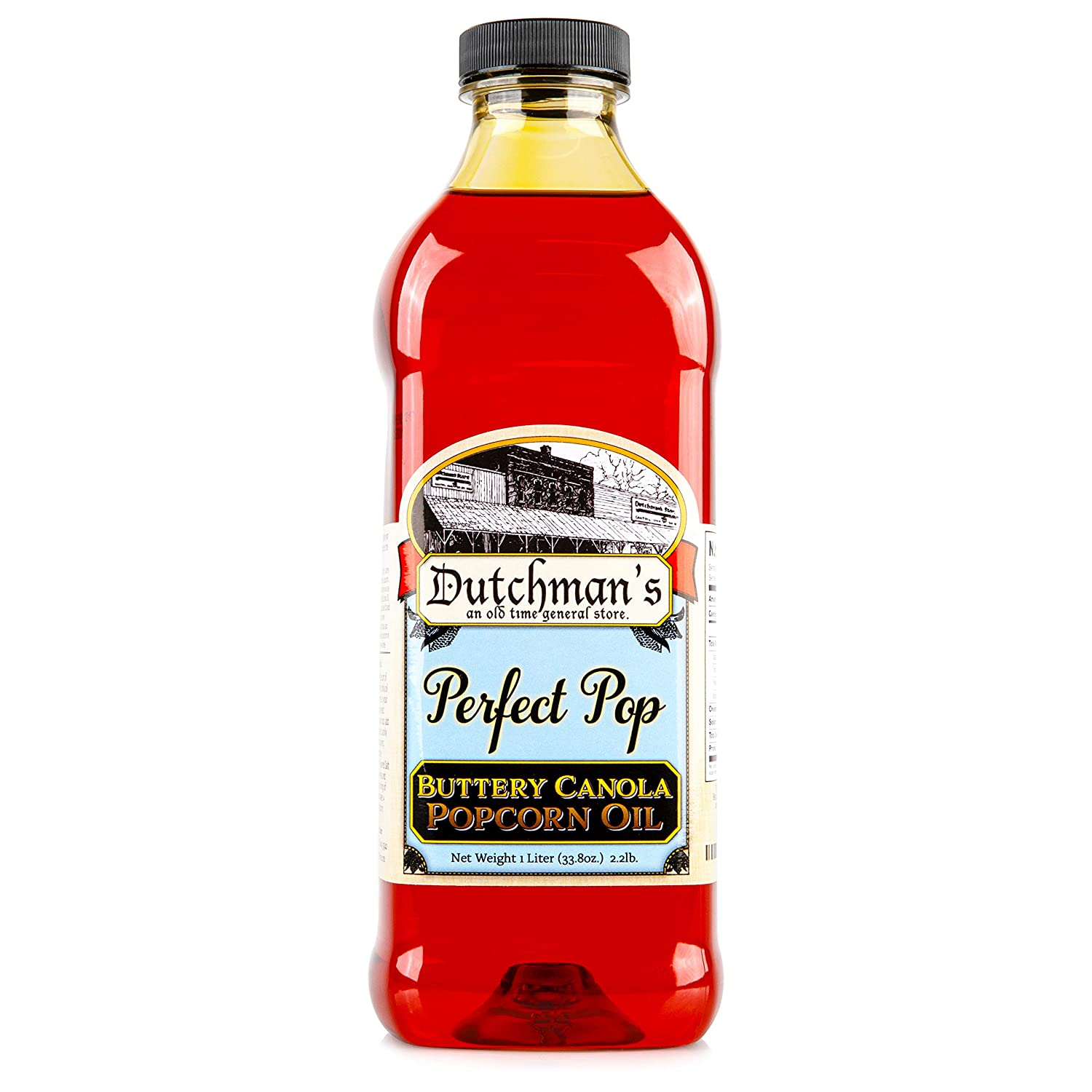 Dutchman's Popcorn Oil Max 42% OFF Butter Perfect Pop Sales of SALE items from new works Fl Flavor