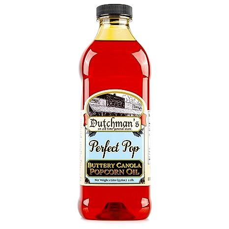 Dutchman's Popcorn Canola Oil Butter Flavor