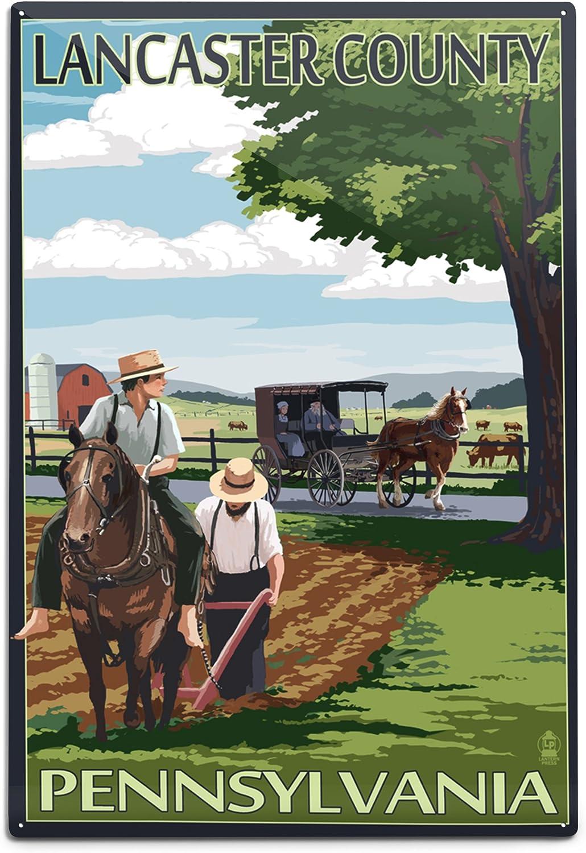 "Pennsylvania various ads on barn Old Vintage Photo Reprint /""8x10/""  Lancaster"