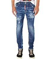 DSQUARED2 - Medium Paint Wash Skater Jeans