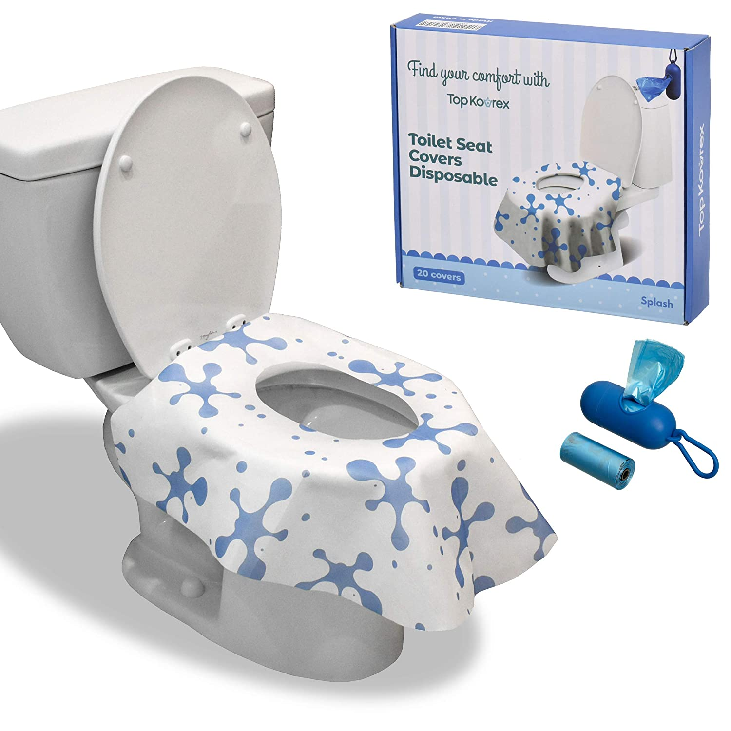 Toilet Seat Covers Disposable - Be super welcome San Diego Mall Soft Non-Woven Wat Extra Large