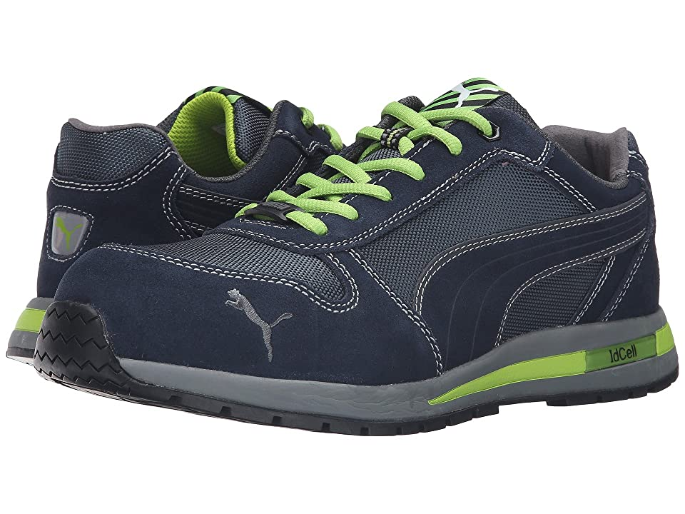 3b226caad85200 PUMA Safety Airtwist Low (Blue Green) Men s Work Boots