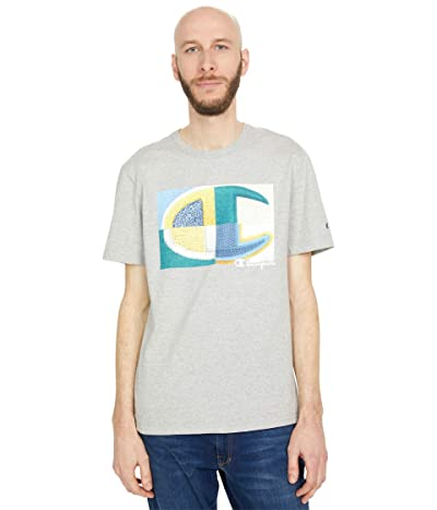 Champion LIFE Heritage Short Sleeve T-Shirt (Oxford Gray) Men