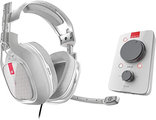 ASTRO Gaming A40 TR Casque Gamer Filaire + MixAmp Pro TR, Gén 3, Son Dolby 7.1 Surround, Sortie Stream Personnalisabl...