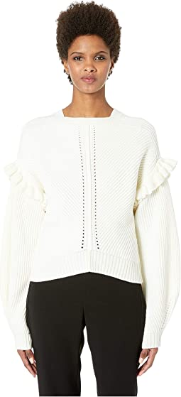 Cashfeelyn Knit Cashfeel Shoulder Detail Sweater