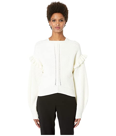 GREY Jason Wu Cashfeelyn Knit Cashfeel Shoulder Detail Sweater