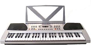Huntington KB54-100 54-Key Portable Electronic Keyboard (Sil