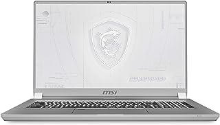 """MSI WS75 10TK-651ES - Ordenador portátil de 17.3"""" UHD (Comet Lake i7-10875H+HM470, 32 GB RAM, 1 TB SSD, Quadro RTX3000, Wi..."""