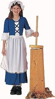 Forum Novelties Colonial Girl Costume, Child's Medium