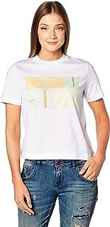 Calvin Klein Multi Logo Box Camiseta para Mujer