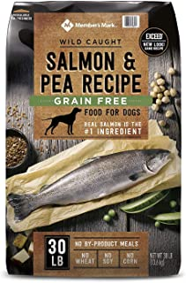 Member's Mark Exceed Grain-Free Dry Dog Food, Wild-Caught Salmon & Peas (30 lbs.)EA