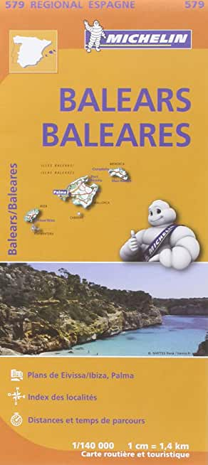 Carte Baléares Michelin