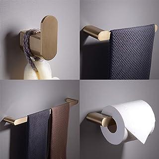 Towel bar Moen Adler Chrome Bathroom kit Toilet paper Holder Towel ring