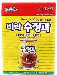 Paldo Sujeonggwa, Korean Cinnamon Punch, 238ml (Pack of 12)