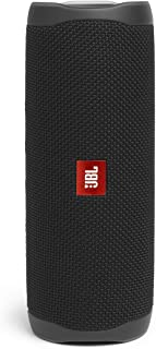 JBL JBLFLIP5BLK Flip 5 Portable Bluetooth Wireless Speaker Black