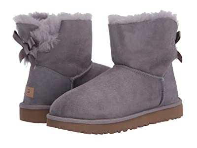 UGG Mini Bailey Bow II (Soft Amethyst) Women