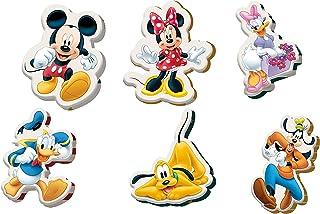 Kids Licensing | Mini Cojines Infantiles - Diseño Mickey Mouse - Diferentes Personajes - Personajes Disney - Material Ignífugo - Cojines Infantiles - Dimensiones 35 x 45 cm/ 10 x10 cm