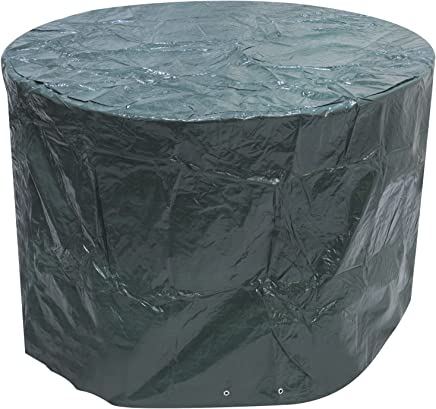 Small Round Outdoor Garden Patio Furniture Set Cover 1.42m x 0.96m / 4.7ft x 3.2ft