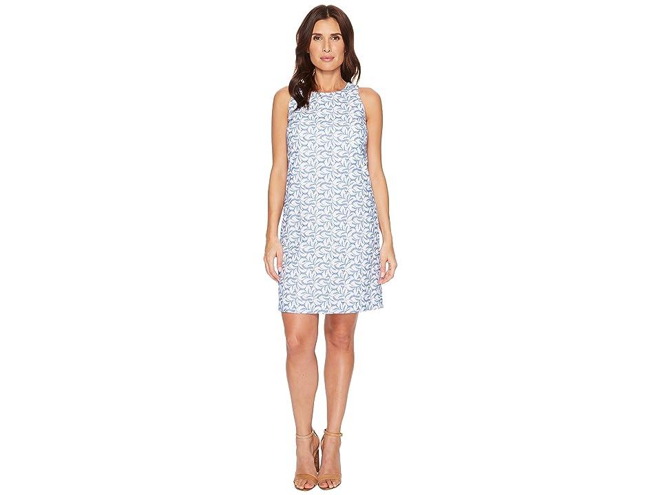 Tommy Bahama Villa Vines Eyelet Short Dress (White) Women