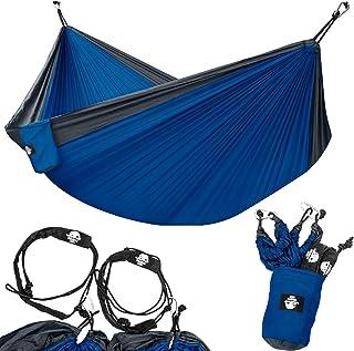 Legit Camping Hamaca – Hamacas – Hamaca para 2 personas – Hamaca de árbol – Hamaca doble – Hamaca portátil – Hamaca para e...