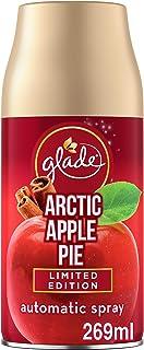 glade Lot de 4 recharges de désodorisant automatique 321376C pour la maison, tarte aux pommes arctique, 269 ml