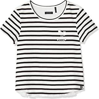 IKKS Junior tee-Shirt Marinière MC Camiseta para Niñas