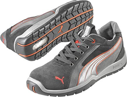 Puma Safety safety shoes Dakar low 64.268.0 low shoes S1P HRO SRC, 43 EU, grey - EN safety certified