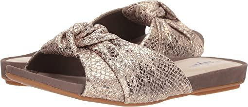 Taupe Gold Resort Snake Print