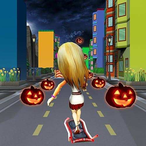 Nacht U-Bahn-Bus: Halloween Endlose Lauf Spiel