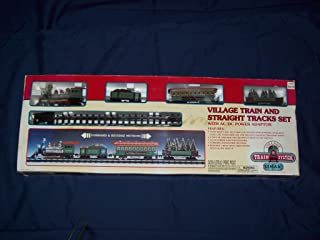 lemax village train system