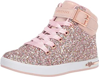 Skechers Unisex-Child Shoutouts-Sparkle on Top Sneaker