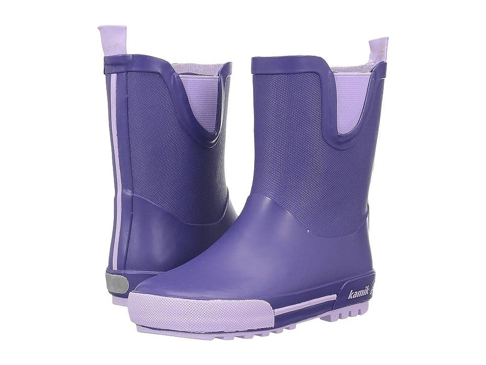 Kamik Kids Rainplay (Toddler) (Purple) Girls Shoes