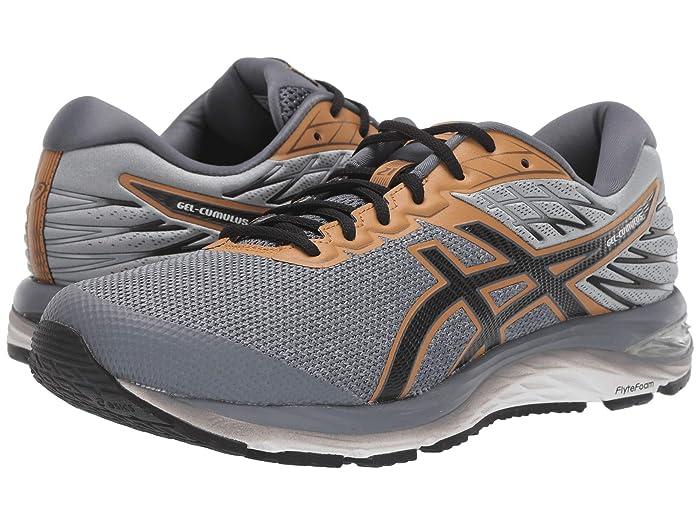 ASICS  GEL-Cumulus 21 (Stone Grey/Performance Black) Mens Running Shoes